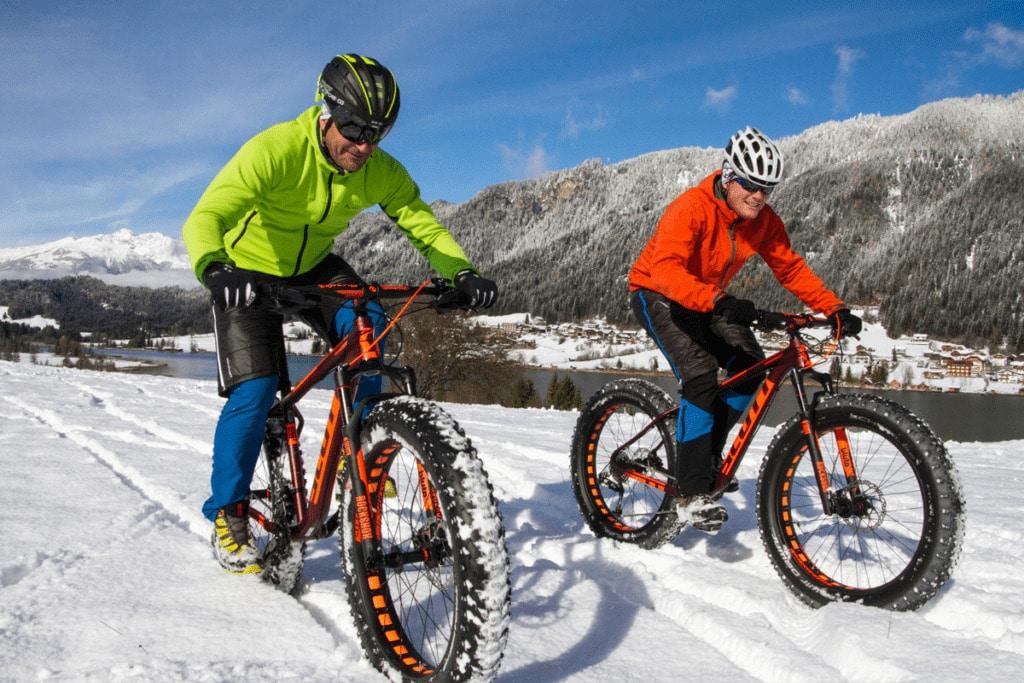 Heuer neu: Snow-Ice-Biken
