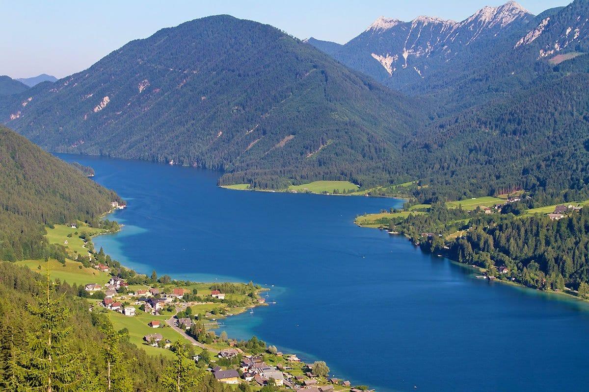 Naturpark-Weissensee-Aussichtspunkt-Naturkulisse-Landschaftsbild-Oesterreich-Urlaub-Wandern-Baderlaub-Biken-Kaernten-baden-7