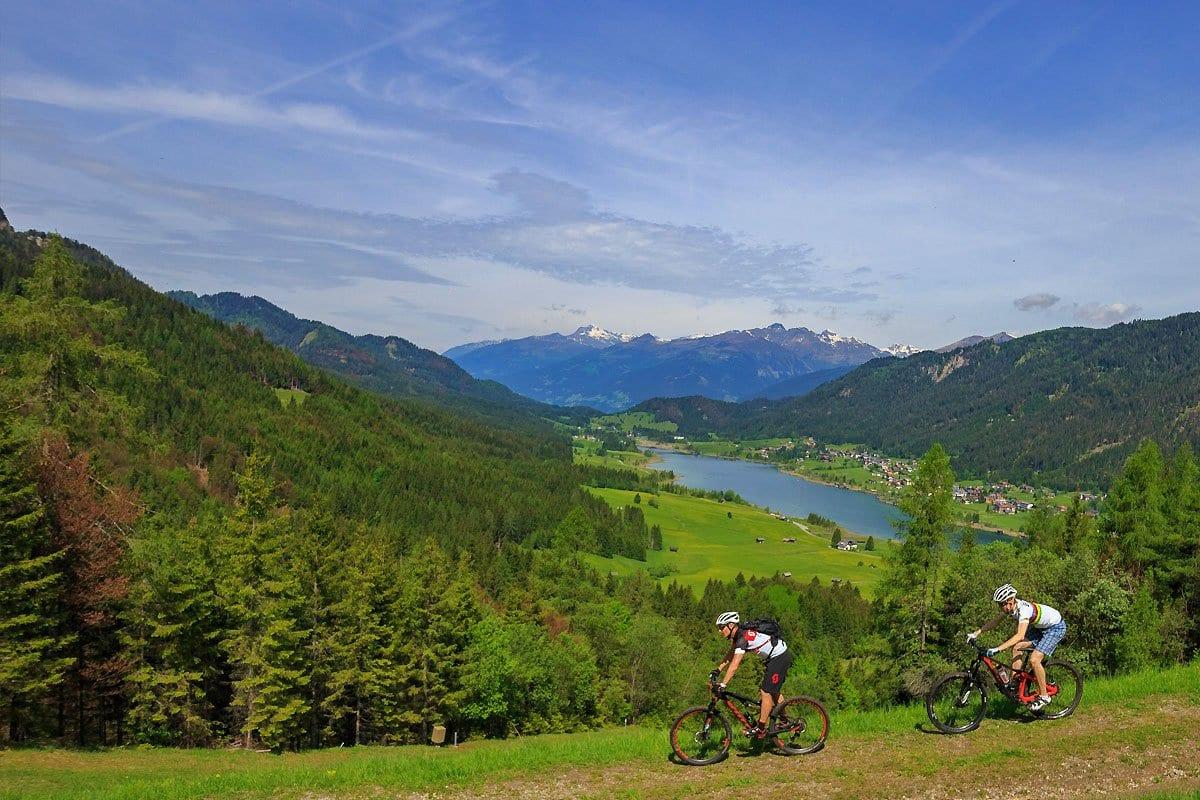 Naturpark-Weissensee-Radfahren-Mountainbiken-Ferienwohnungen-Hoffmann-2