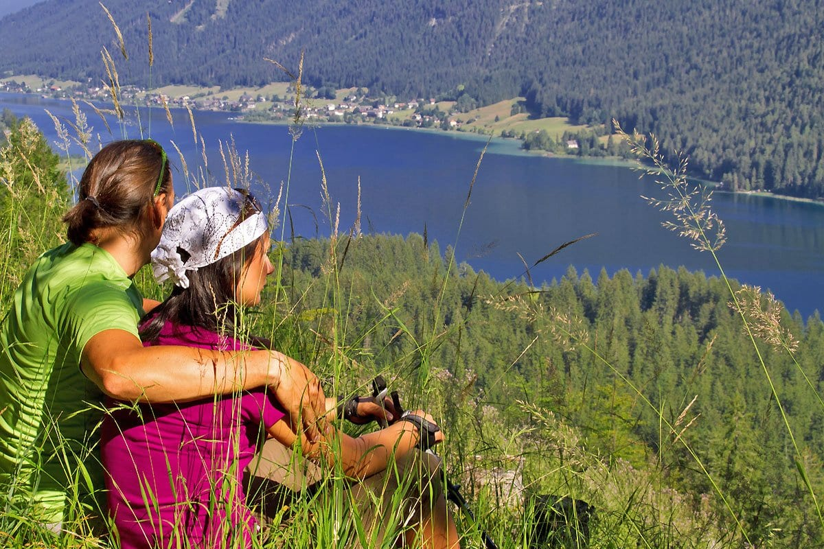Naturpark-Weissensee-Wandern-Erlebnisurlaub-Wanderrouten-Wanderurlaub-Aussichtspunkt-4