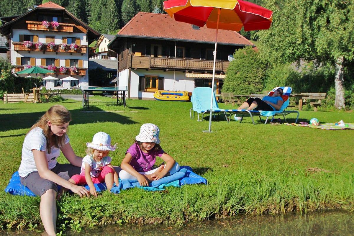 Weissensee-Hoffmann-Badestrand-Familienurlaub-6