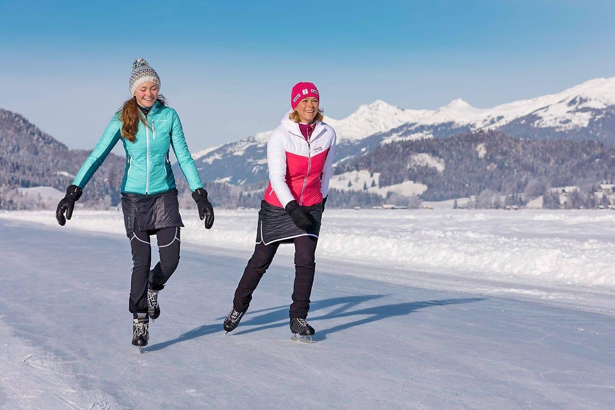 Naturpark-Weissensee-Eislaufen-Winterurlaub-Ferienwohnung-Hoffmann-7