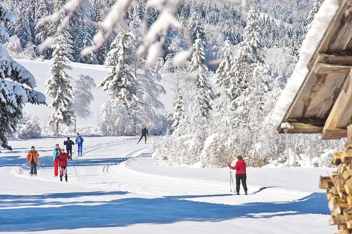 Naturpark-Weissensee-Langlaufen-Winterurlaub-Ferienwohnungen-Hoffmann-3
