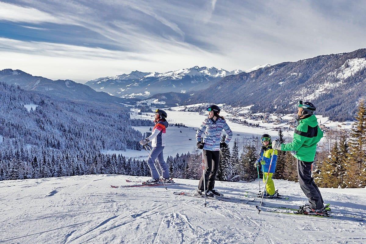 Naturpark-Weissensee-Skifahren-Winterurlaub-Schneeparadies-Ferienwohnung-Hoffmann-12