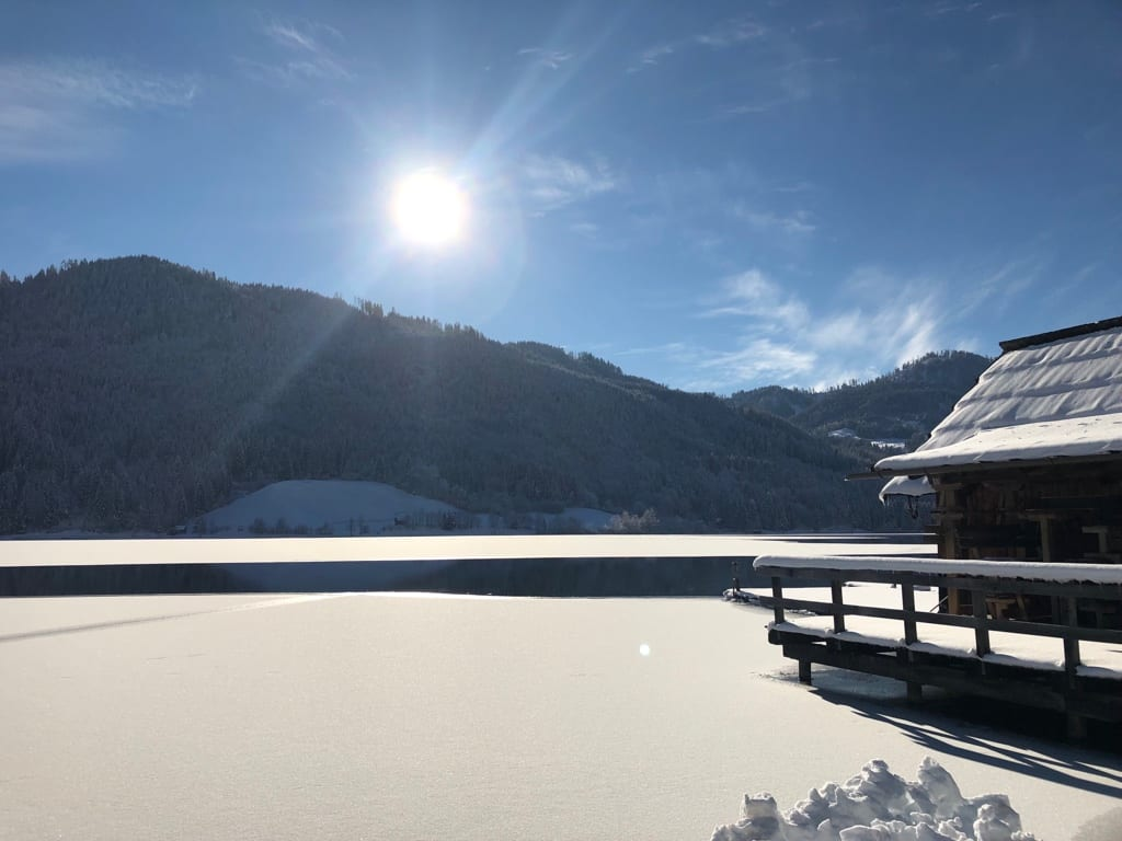 Winter am Weissensee