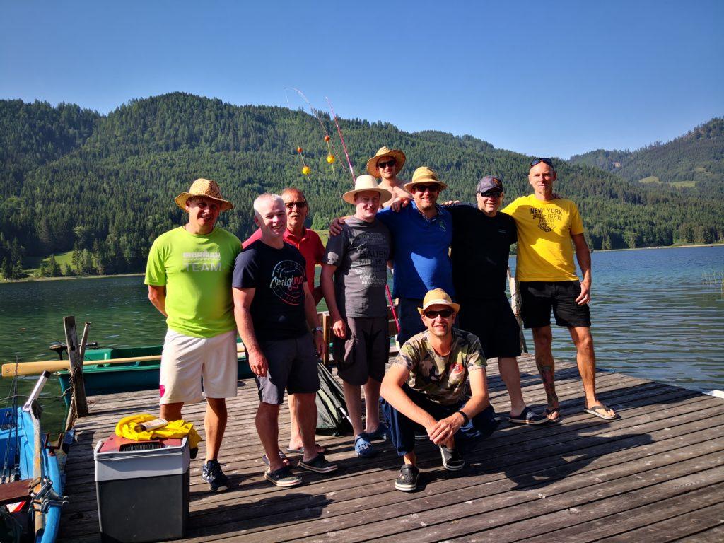 Fischerfreunde Schanga zu Besuch im Ferienhof Hoffmann
