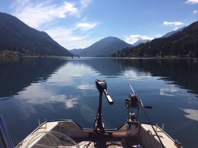 Fischen am Weissensee- fischverliebt Wochenende im September 2019