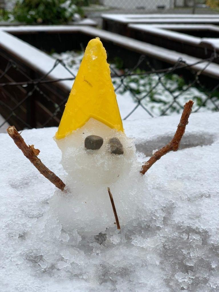 Der erste Schnee ist da :-)
