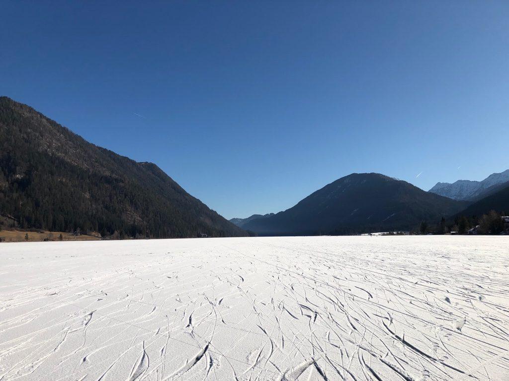 … so schön kann der Winter am Weissensee sein