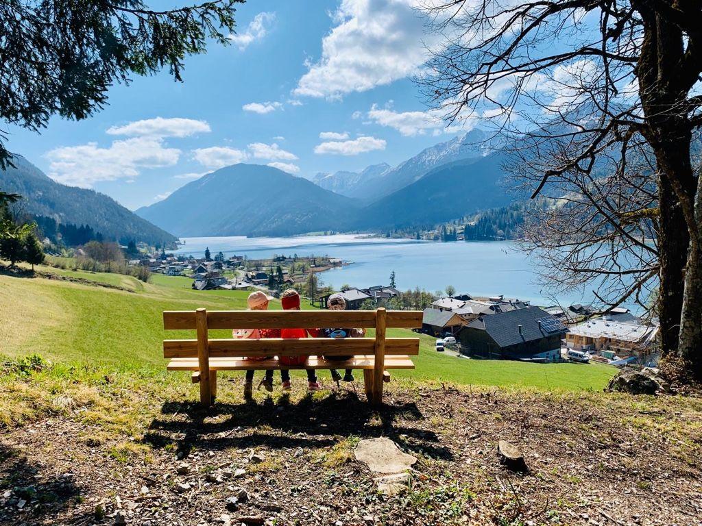 Frühlingszeit am Weissensee Kärnten