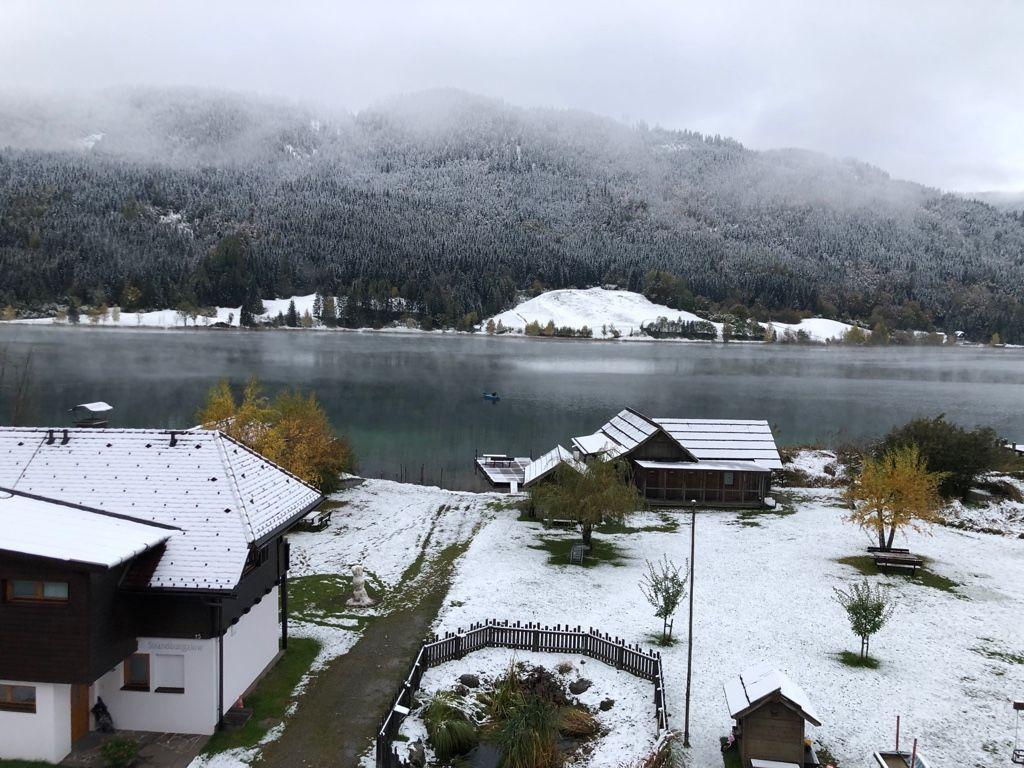 Der Winter klopfte kurz an unsere Tür…
