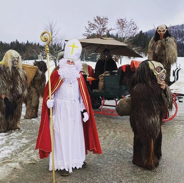 Besuch vom Nikolaus und Krampus