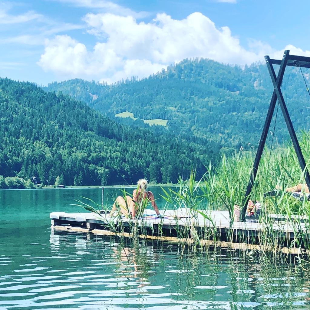 Sommerurlaub am Weissensee Kärnten Ferienhof Hoffmann